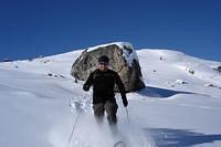 Snowshoweing